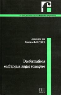 Simonne Lieutaud - Des formations en français langue étrangère.