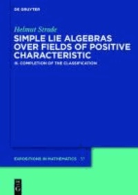 Simple Lie Algebras over Fields of Positive Characteristic 3 - Completion of the Classification.