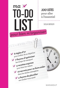 Sioux Berger - Ma to do list Organisation.
