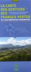 SIPAVAG - La carte des sentiers des franges vertes de l'agglomération grenobloise - 1/50 000, Patrimoine, flore, faune, milieux naturels.