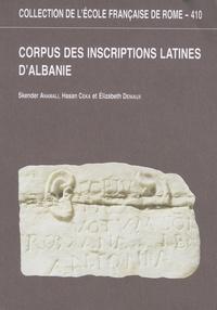Skender Anamali et Hasan Ceka - Corpus des inscriptions latines d'Albanie.