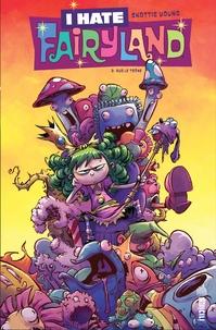 """Skottie Young et Jeffrey """"Chamba"""" Cruz - I hate Fairyland Tome 2 : Sur le trône."""