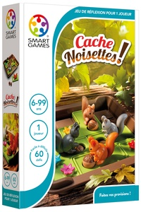SMART GAMES - Jeu cache noisettes