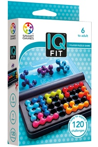 SMART GAMES - Jeu de poche IQ fit