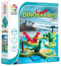 SMART GAMES - Jeu dinosaures