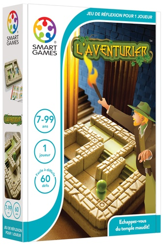 SMART GAMES - Jeu l'aventurier