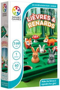 SMART GAMES - Jeu lièvres et renards