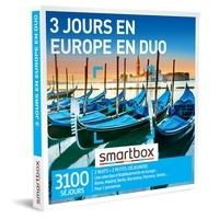 SMARTBOX- GROUPE SMART&CO - Coffret 3 jours en Europe en duo