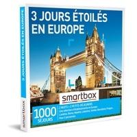 SMARTBOX- GROUPE SMART&CO - Coffret 3 jours étoilés en Europe