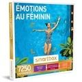 SMARTBOX- GROUPE SMART&CO - Coffret Émotions au feminin