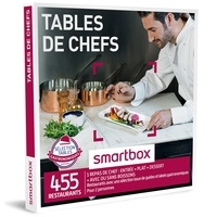 SMARTBOX- GROUPE SMART&CO - Coffret Tables de chef