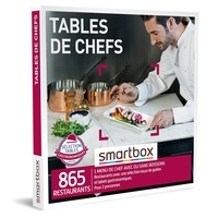 SMARTBOX- GROUPE SMART&CO - Coffret Tables de chefs