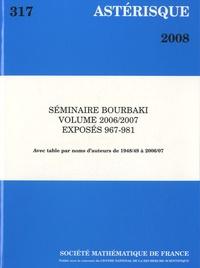 Astérisque N° 317/2008.pdf