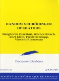 Margherita Disertori et Werner Kirsch - Panoramas et synthèses N° 25/2008 : Random Schrödinger Operators.