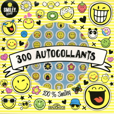 SmileyWorld - 300 autocollants 100% Smiley.
