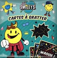 SmileyWorld et Eugénie Varone - Cartes à gratter Les Smileys - Avec 10 cartes à gratter, 1 bâtonnet.