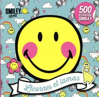 SmileyWorld - Licornes et lamas - 500 stickers Smiley.