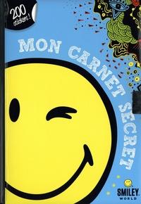 SmileyWorld - Mon carnet secret Smiley - Avec 200 stickers.