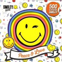 SmileyWorld - Peace & Love - 500 stickers Smiley.