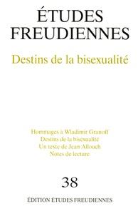 Jean Allouch - Etudes freudiennes N° 38, printemps 200 : Destins de la bisexualité.