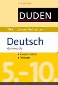 SMS Deutsch - Grammatik 5.-10. Klasse.