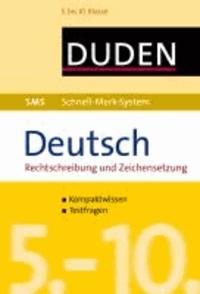 SMS Deutsch - Rechtschreibung und Zeichensetzung 5.-10. Klasse.
