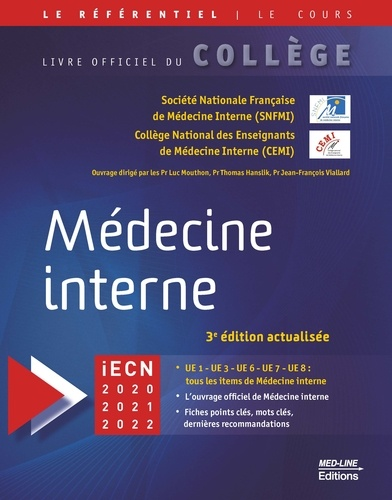 Médecine interne 3e édition revue et augmentée