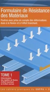 Deedr.fr Formulaire de Résistance des Matériaux - Tome 1n Image