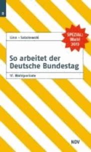 So arbeitet der Deutsche Bundestag 17. Wahlperiode.