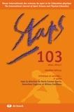 Marie-Carmen Garcia et Geneviève Cogérino - Staps N° 103, Hiver 2014 : Artistique et sensible... - 2e partie.
