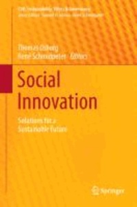 Social Innovation - Solutions for a Sustainable Future.