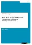 Social Media in projektorientierten Unternehmen in Bezug auf Beratungsunternehmen.