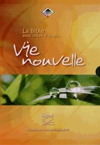 Histoiresdenlire.be La Bible Segond 21 avec notes d'étude Vie nouvelle Image
