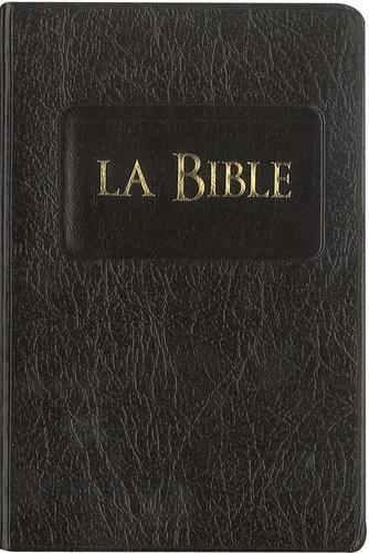 Société biblique de Genève - La Bible - Couverture souple noire.