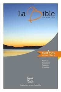 Société biblique de Genève - La Bible - Extraits.