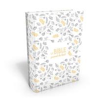 Société biblique de Genève - La Bible. Journal de bord - Segond 21, l'original avec les mots d'aujourd'hui. Couverture souple Vivella blanc avec motifs.