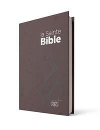 Société biblique de Genève - La Sainte Bible Segond NEG - Couverture brune.
