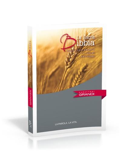 Société biblique de Genève - Nuovo Testamento Salmi Proverbi carateri grandi.