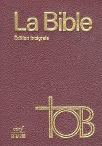 TÉLÉCHARGER LA SAINTE BIBLE TOB