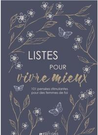 Société biblique française - Listes pour vivre mieux.