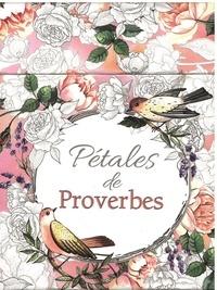 Société biblique française - Pétales de proverbe - 44 cartes à colorier.