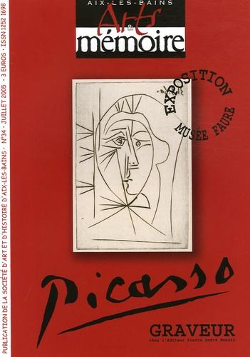 André Liatard - Arts & mémoire N° 34, Juillet 2005 : Picasso - Exposition musée Faure.