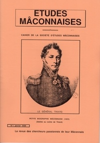 André Jeannet - Etudes Mâconnaises N° 1, janvier 2000 : Petite biographie mâconnaise.