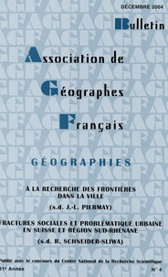 Bulletin de lAssociation des Géographes français N° 4, Décembre 2004.pdf