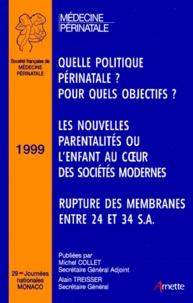 29EMES JOURNEES NATIONALES DE MEDECINE PERINATALE. Monaco 1999.pdf