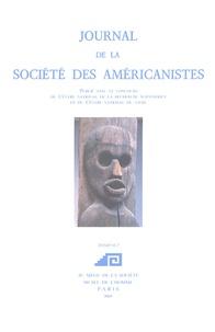 """Michael E. Harkin - Journal de la Société des Américanistes N° 91-2/2005 : Repenser les """"Amériques noires"""" (2)."""