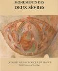 Société Française Archéologie - Monuments des Deux-Sèvres.