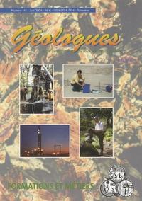 Gérard Sustrac - Géologues N° 141, Juin 2004 : Formations et métiers.