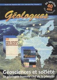 Gérard Sustrac - Géologues N° 146, Septembre 20 : Géosciences et société - Le géologue, homme clé de la planète.