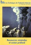 Société Industrie Minérale - Les Techniques de l'Industrie Minérale N° 15, Septembre 200 : Ressources minérales et océan profond.